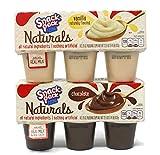 General Variety Pack - Naturals Snack Pack Pudding (22.5oz) - Chocolate, Vanilla