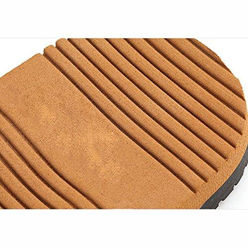 XIAOLIN Zapatillas de deporte de verano con suela gruesa de hombre Zapatillas de deporte con suela de antideslizante de Inglaterra Trend (tamaño opcional) ( Color : 01 , Tamaño : EU40/UK7/CN41 ) 01