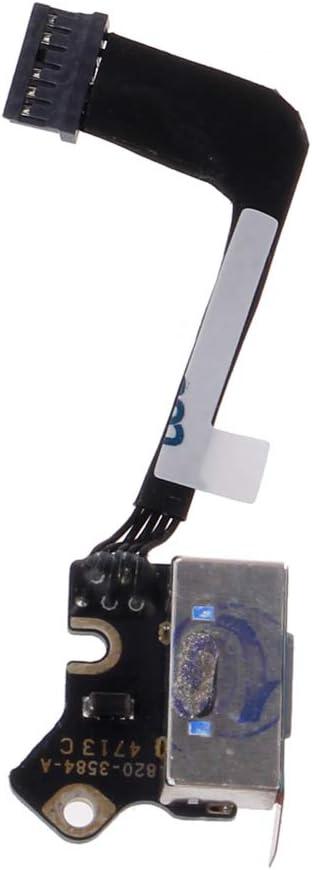 Prise DC-in Prise de Carte dalimentation Prise 820-3584-A pour MacBook Pro Retina 13A1502 Port de Charge Connecteur de Prise dalimentation CC 2013-2015 Ann/ées WINJEE