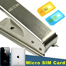 METAL MICRO SIM CARD CUTTER+2 ADPATER CASES for APPLE IPHONE 4 4G 4th. GEN, Ipad
