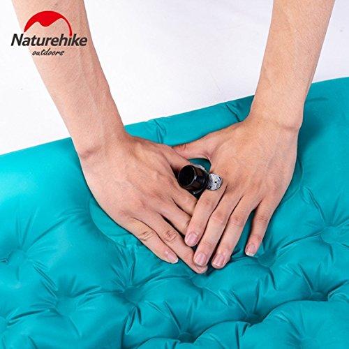 della gonfiabile mano di pressione gonfiabile di Materassino Nylon maternità gonfiabile all'aperto materasso di 20D gonfiabile gonfiabile del di Moliies campeggio 1ZxapqwtZ5