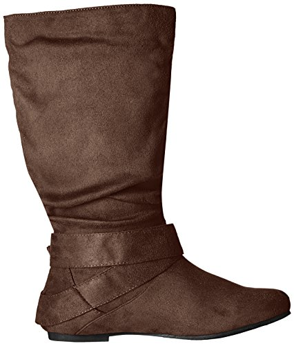 Brinley Co Womens Prospect-08wc Slouch Boot Marrone