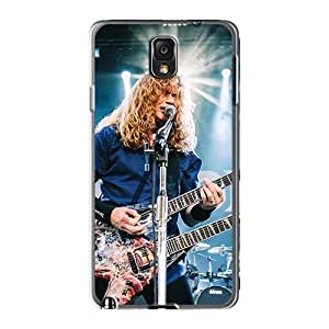 AlissaDubois Samsung Galaxy Note3 High Quality Hard Cell-phone Cases Customized Fashion Megadeth Band Image [gXj5499QTSK]