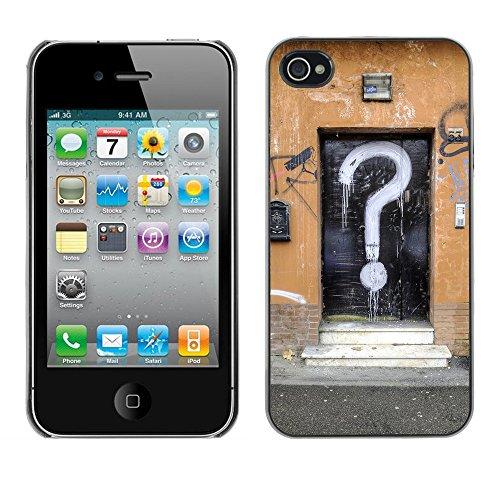 Premio Sottile Slim Cassa Custodia Case Cover Shell // F00004311 question porte // Apple iPhone 4 4S 4G