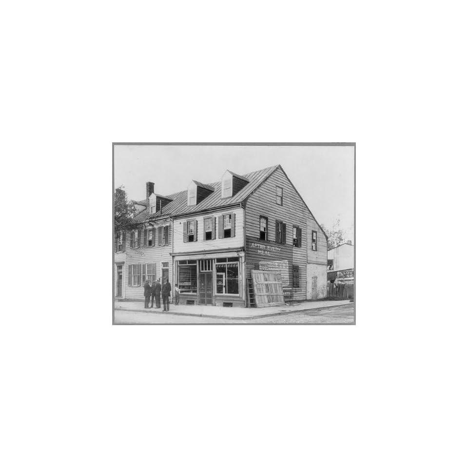 Photo House,John Paul Jones,1747 1792,Fredericksburg,VA