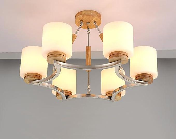 Luci di soffitto lampadari in legno camera da letto lampade in