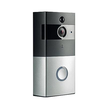 Timbre de puerta de vídeo Rick, timbre inalámbrico con cámara WiFi habilitada, sensor de