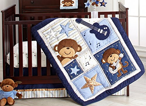 Carter S Monkey Collection 4 Piece Crib Set Buy Online