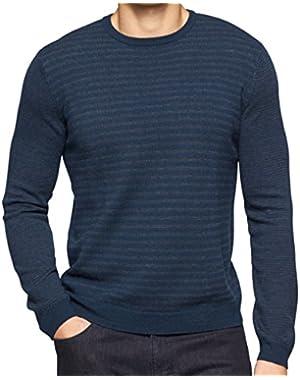 Calvin Klein Multi-scale Stripe Sweater