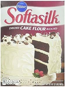 Pillsbury Softasilk Cake Flour Enriched Bleached, 32 oz