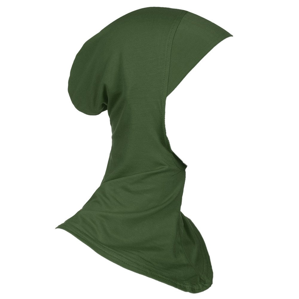 Rovinci Femmes Foulard musulmanes Foulard voile turban /écharpe pashmina bonnet cagoule islamique Hijab foulard /à enfiler /écharpe Musulmane
