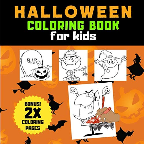 Halloween Coloring Book for Kids ()
