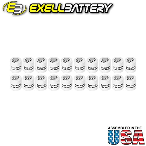 20pc Exell A25PX 4.5V Alkaline Battery V25PX RPX25 A25PX EPX25 PX25 by Exell Battery