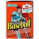 1990 Donruss Baseball Unopened Wax Pack Collectible Trading Cards (16 cards per pack) - Randomly inserted All Pro Cards - Juan Gonzalez, Cal Ripken Jr, Bo Jackson, Nolan Ryan, Wade Boggs, Craig Biggio