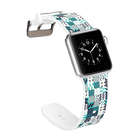 Amazon.com: Sibode Replacement Band for Apple Smart Watch ...