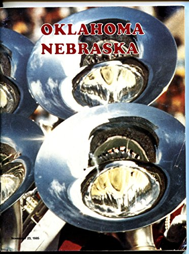 - Nebraska vs. Oklahoma-1985 NCAA Football Program National Champs