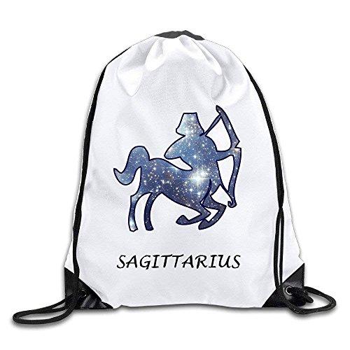 - Funny Sagittarius Zodiac Star - November 23 - December 22 Sport Bag Drawstring Sling Backpack For Men & Women Sackpack