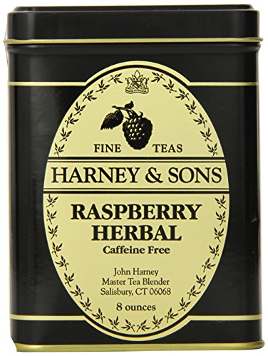 Harney & Sons Loose Leaf Herbal Tea, Raspberry, 8 Ounce
