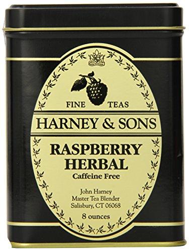 (Harney & Sons Loose Leaf Herbal Tea, Raspberry, 8 Ounce)