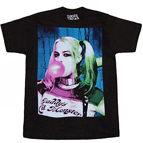 Suicide Squad Harley Quinn Bubble Gum T-Shirt-Small]()