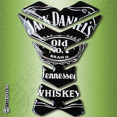 Paraserbatoio Jack Daniels whiskey tank pad motogp honda kawasaki ...