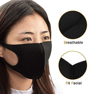 nobrand Cikyoo 8pcs Face Protective Washable Reusable Cotton Mouth Protection Face Bandanas Men Women Adults: Sports & Outdoors