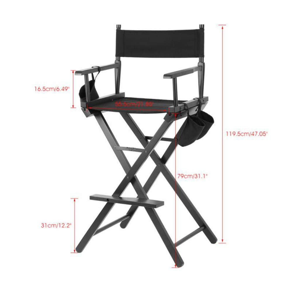 Usshopsksw Professional Folding Chair Artist Director Chair Foldable Outdoor Furniture Lightweight Chairs