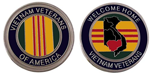 - Vietnam Veterans Collectible Challenge Coin/ Logo Poker /Lucky Chip