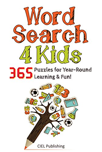Word Search for Kids: 365 Amazing Puzzles for Year-Round Learning and Fun! (Word Search Puzzle, Word Find, Word Seek Book ()