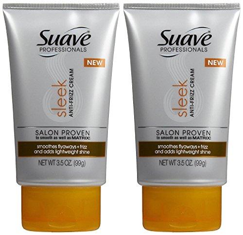 Suave Professionals Anti-Frizz Cream - 3.5 oz - 2 pk