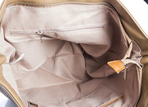 Plain Red Tote Shop Shoulder Soft Bag Big Coral Handbag Womans Designer gRvnOwxIqY