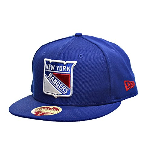newest 8784f b0b3f ... sweden new era new york rangers nhl 59fifty fitted hats athletic caps  blue white 802081.