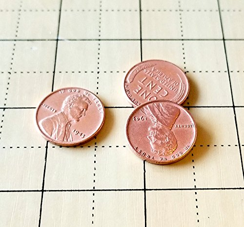 Steel Core Penny Magic Trick Set (3 Pennies) by Sasco ()