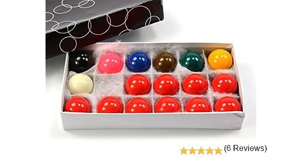 Economía bolas de billar 17 juego de bolas 1 5/8 inch (41 mm ...