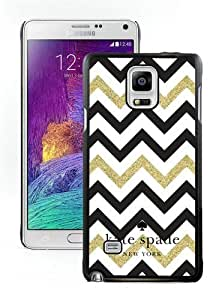 DIY Hot Sale Samsung Galaxy Note 4 Case,Kate Spade 149 Black New Design Samsung Galaxy Note 4 Phone Case