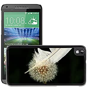 GoGoMobile Slim Protector Hard Shell Cover Case // M00119474 Dandelion Flower Nature Close Seeds // HTC Desire 816