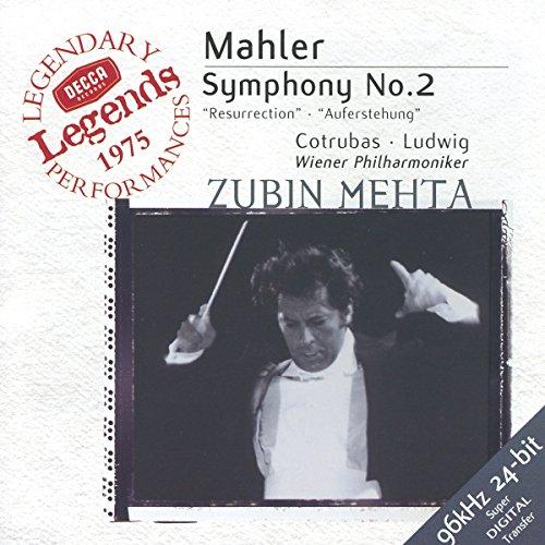 Mahler: Symphony No. 2 / Mehta, Vienna Philharmonic Orchestra