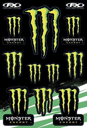 monster energy truck decal - 1
