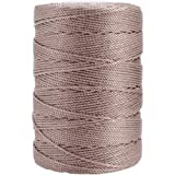 Iris 18-507 Nylon Crochet Thread, 197-Yard, Taupe