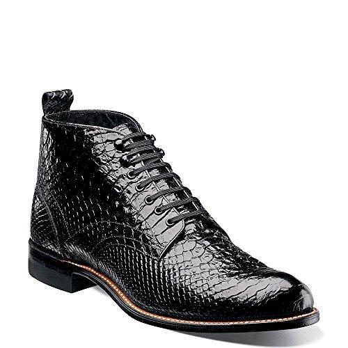 (STACY ADAMS Madison HI Anaconda Men's Boot 11.5 D(M) US Black)