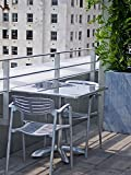 LAMINATED POSTER Sitting Modern Rooftop Terrace Table Contemporary Poster 24x16 Adhesive Decal