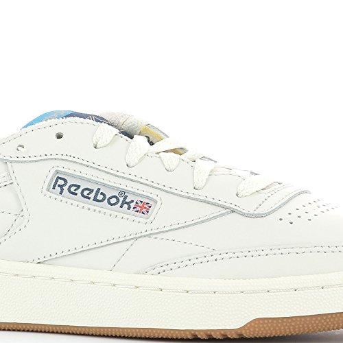Reebok Sneakers Uomo AQ9844 Pelle Bianco