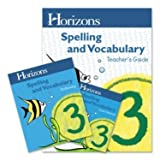 Horizons Spelling and Vocabulary Grade 3 Set