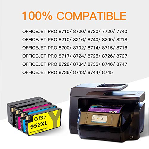 ejet Remanufactured Ink Cartridge Replacement for HP 952XL