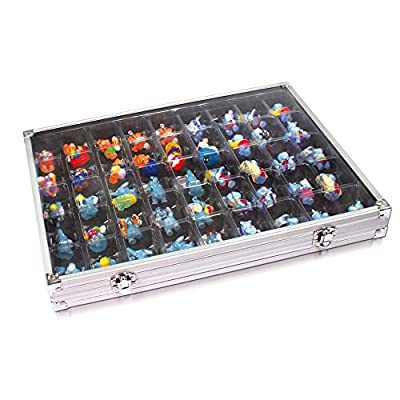 SAFE Aluminum Collecting Display Case for Rocks, Action Figures and More: Sports & Outdoors