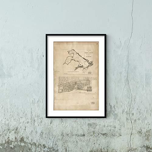 1778 Map|Subject: Florida|Nautical Charts|Saint Augustine|Saint Augustine FLA|Tampa Bay|Tampa Bay -
