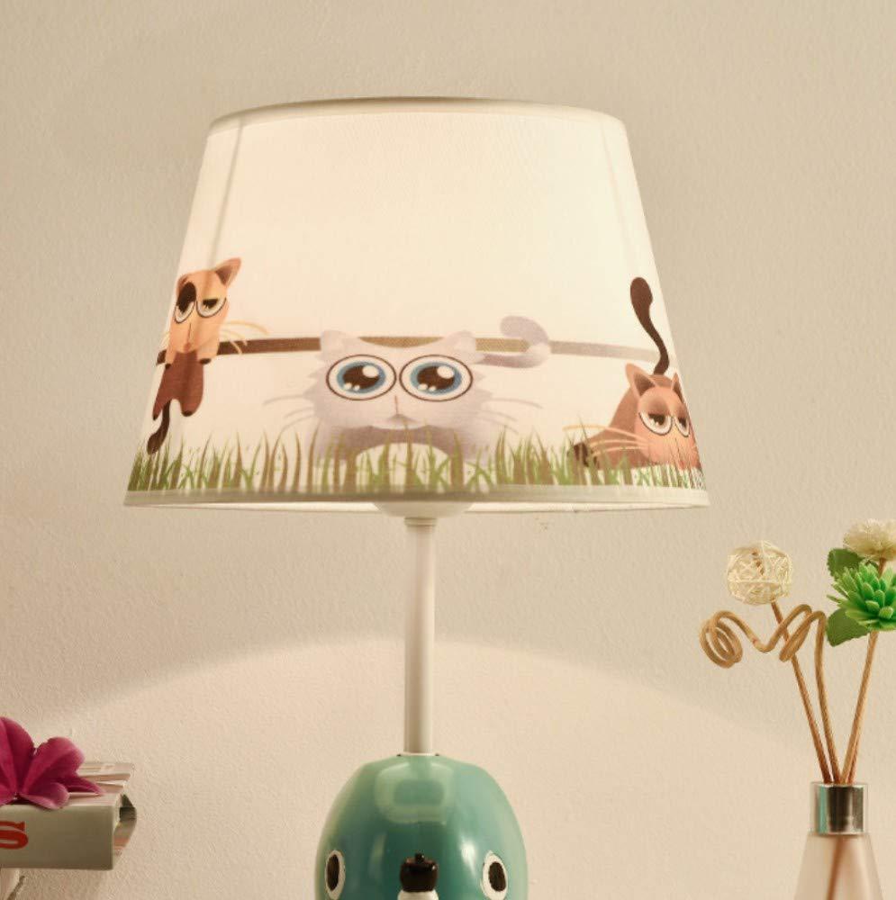A Kunst, Die Moderne Unbedeutende Kreative Harztischlampenschlafzimmer-Nachttischlampe Der Kinder, A Beleuchtet