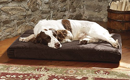 Orvis Platform Dog Bed Cover / X-large Dogs 90-120 Lbs., Chocolate,