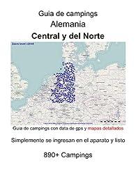 Répertoire de campings ALLEMAGNE CENTRALE et du NORD (avec coordonnées géographiques et cartes détaillées)