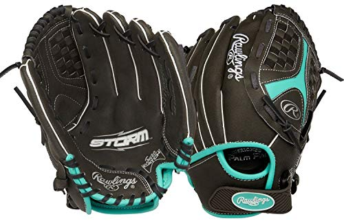 "Rawlings Storm Regular Funnel Web 11"" Softball Youth Gloves"